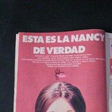 Muñecas Nancy y Lucas: ANUNCIO PUBLICIDAD MUÑECA NANCY DE FAMOSA. Lote 118160027