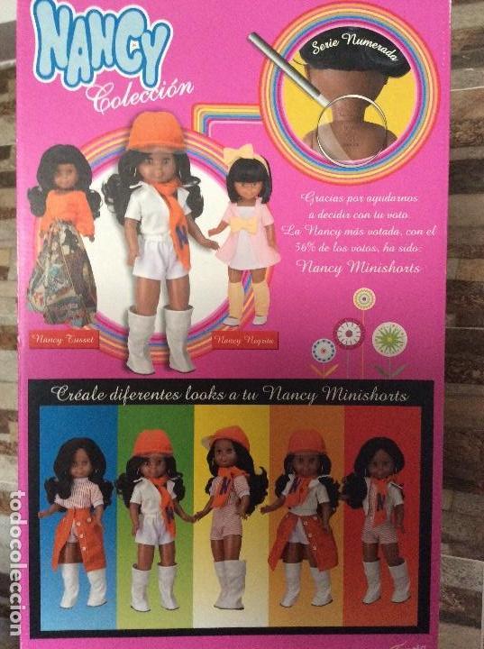 Muñecas Nancy y Lucas: Nancy negrita mini shorts colección famosa - Foto 3 - 119357307