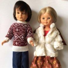 Muñecas Nancy y Lucas: PRECIOSA NANCY 1ª ÉPOCA ACOMPAÑADA DE LUCAS AÑOS 70. Lote 124557768
