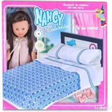 Muñecas Nancy y Lucas: NANCY COLECCIÓN Y SU CAMA. Lote 121045491