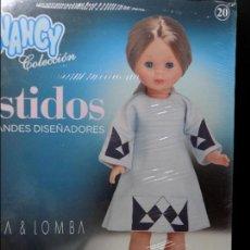 Muñecas Nancy y Lucas: VESTIDO PARA NANCY FAMOSA , DEVOTA & LOMBA GRANDES DISEÑADORES EN CAJA. Lote 121874547