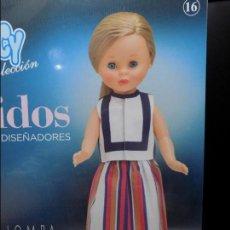 Muñecas Nancy y Lucas: VESTIDO PARA NANCY FAMOSA , DEVOTA & LOMBA GRANDES DISEÑADORES EN CAJA. Lote 121874583
