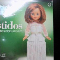 Muñecas Nancy y Lucas: VESTIDO PARA NANCY FAMOSA , ION FIZ GRANDES DISEÑADORES EN CAJA. Lote 121876443