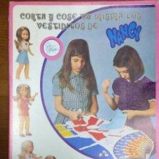 Muñecas Nancy y Lucas: NANCY CORTA Y COSE NUEVO. Lote 122189003