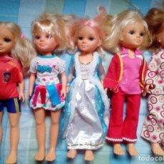 Muñecas Nancy y Lucas: LOTE DE 5 NANCY,CON SUS VESTIDOS INCLUIDOS¡¡ FAMOSA,NANCY NEW. Lote 122771899