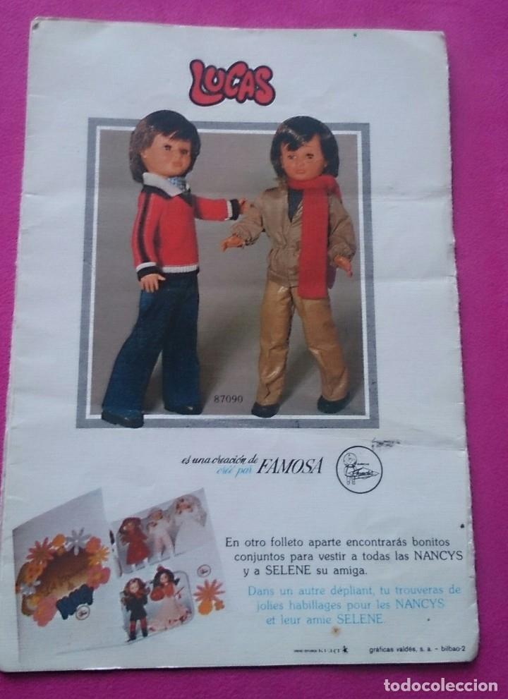 Muñecas Nancy y Lucas: Hoja desplegable catálogo Conoce a tus nuevas Nancy Famosa - Foto 3 - 122865023