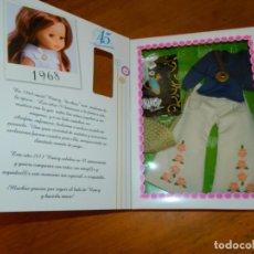 Muñecas Nancy y Lucas: HIPPY CONJUNTO 45 ANIVERSARIO ORIGINAL DE NANCY SIN ESTRENAR. Lote 123403175
