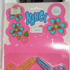 Muñecas Nancy y Lucas: NANCY, BLISTER CON 12 PERCHAS,80093-3 BLOQUES DE 4-COMPLETO - EN SU BLISTER SIN USO-IMPORTANTE LEER. Lote 229613685