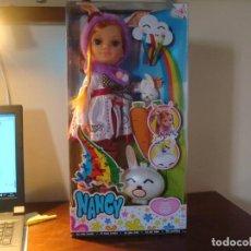 Muñecas Nancy y Lucas: NANCY ARCOIRIS NUEVA EN CAJA. Lote 130441130