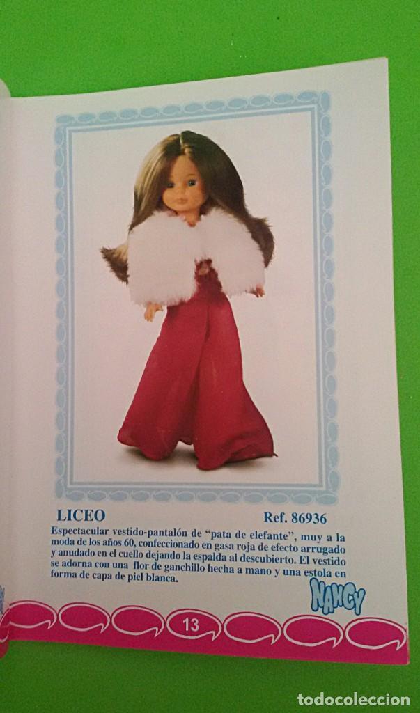 Muñecas Nancy y Lucas: NANCY LICEO DE FAMOSA - QUIRÓN COLECCIÓN 2000 - CERTIFICADO DE AUTENTICIDAD. - Foto 8 - 131127116