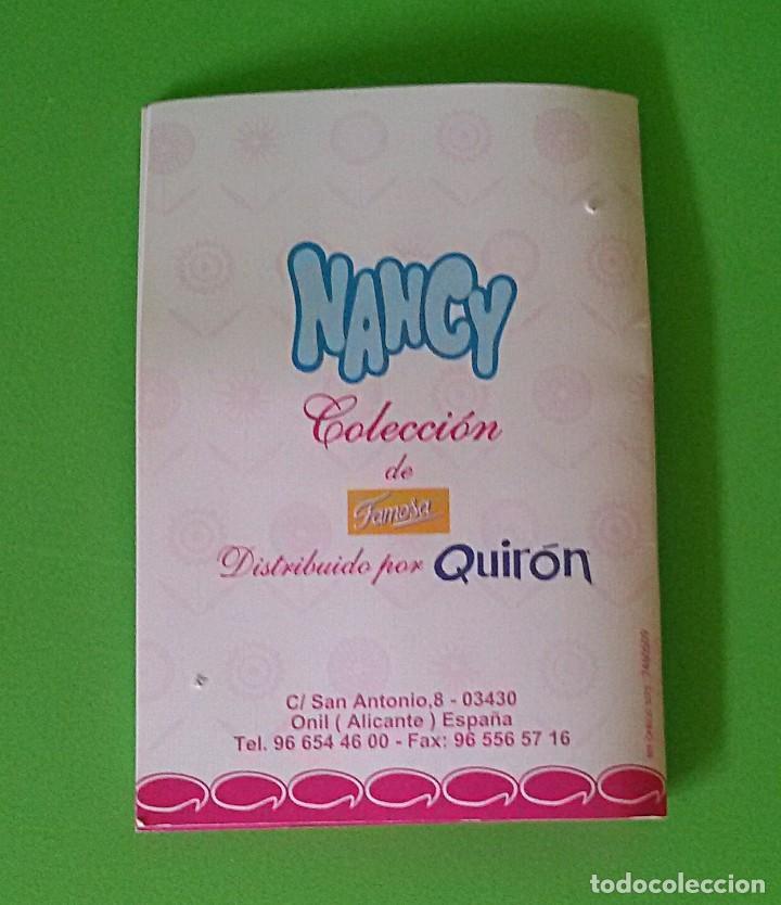 Muñecas Nancy y Lucas: NANCY LICEO DE FAMOSA - QUIRÓN COLECCIÓN 2000 - CERTIFICADO DE AUTENTICIDAD. - Foto 9 - 131127116