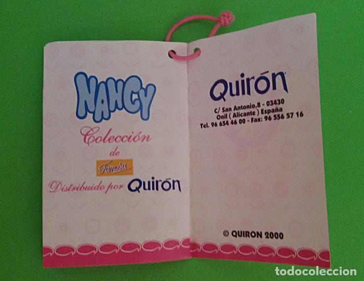 Muñecas Nancy y Lucas: NANCY LICEO DE FAMOSA - QUIRÓN COLECCIÓN 2000 - CERTIFICADO DE AUTENTICIDAD. - Foto 11 - 131127116