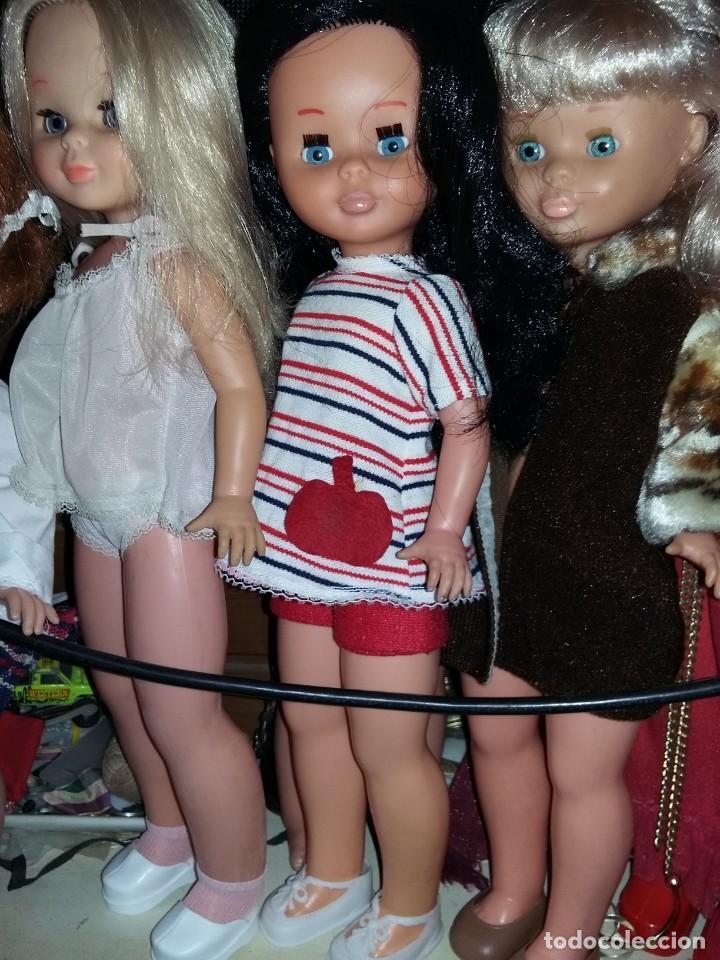 Muñecas Nancy y Lucas: nancy rubia de flequillo a cuerda musical no funciona necesita restaurar - Foto 8 - 131184352