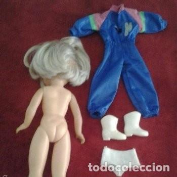Muñecas Nancy y Lucas: Bonita nancy esquiadora años 80 - Foto 4 - 131648386
