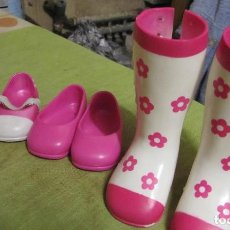Muñecas Nancy y Lucas: LOTE ZAPATOS NANCY. Lote 132338610
