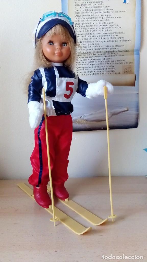 Muñecas Nancy y Lucas: Nancy esquiadora 80 - Foto 2 - 132596638
