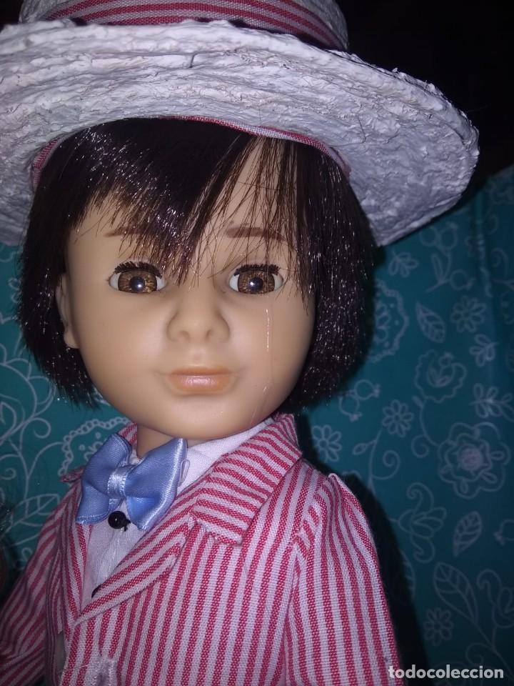 Muñecas Nancy y Lucas: Nancy articulada castaña y lucas de los 70 customizados como bert y mary poppins - Foto 4 - 133079818