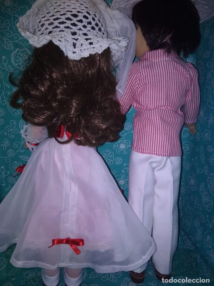 Muñecas Nancy y Lucas: Nancy articulada castaña y lucas de los 70 customizados como bert y mary poppins - Foto 5 - 133079818