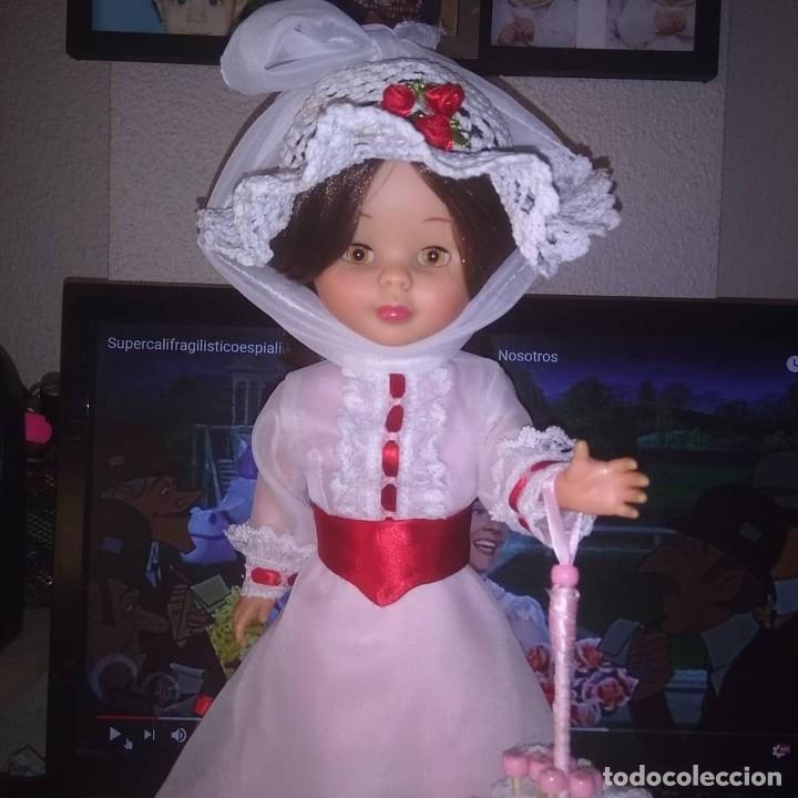 Muñecas Nancy y Lucas: Nancy articulada castaña y lucas de los 70 customizados como bert y mary poppins - Foto 6 - 133079818