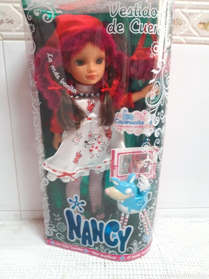 NANCY NEW CUENTOS DESCATALOGADA (Juguetes - Muñeca Española Moderna - Nancy y Lucas)