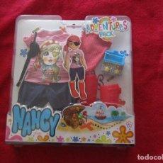 Muñecas Nancy y Lucas: CONJUNTO PIRATA NANCY NEW FAMOSA. ADVENTURES PACK. Lote 133737578