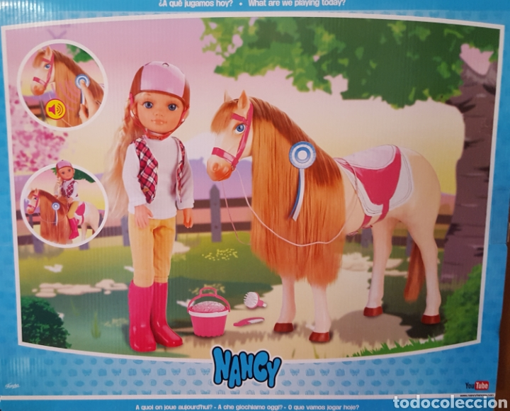 Muñecas Nancy y Lucas: Nancy caballo en caja sin abrir - Foto 2 - 133914569