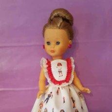 Muñecas Nancy y Lucas: VESTIDO PARA NANCY. TELA ION FIZ MODELO LESLY. Lote 134043405