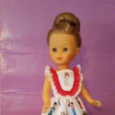 Muñecas Nancy y Lucas: VESTIDO PARA NANCY. TELA ION FIZ. MODELO LICEO. Lote 149609405