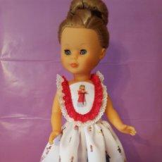 Muñecas Nancy y Lucas: VESTIDO PARA NANCY. TELA ION FIZ. MODELO IBICENCA. Lote 134043934