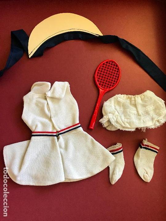Muñecas Nancy y Lucas: CONJUNTO TENIS NANCY FAMOSA AÑOS 70 COMPLETO - Foto 2 - 134850758