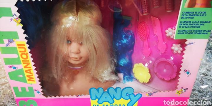 Muñecas Nancy y Lucas: Nancy peinados maniquí.Caja sin abrir. - Foto 2 - 135895167
