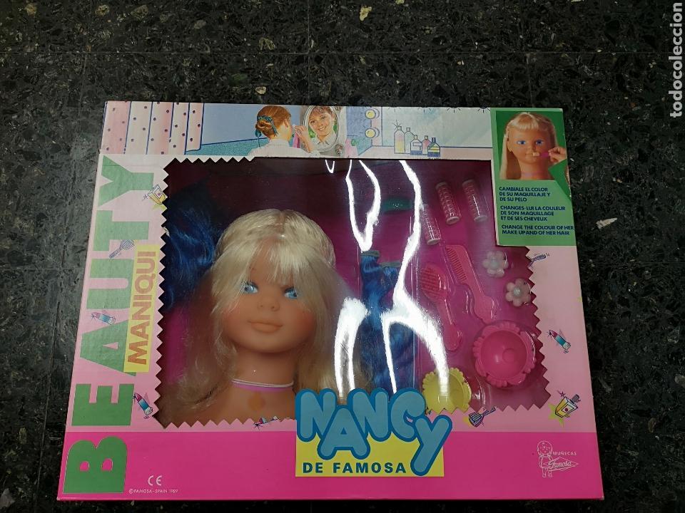 Muñecas Nancy y Lucas: Nancy peinados maniquí.Caja sin abrir. - Foto 5 - 135895167