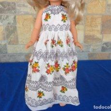 Muñecas Nancy y Lucas: NANCY - VESTIDO ORIGINAL FLORES NANCY AÑOS 70 - MUÑECA NO INCLUIDA - VER FOTOS Y DESCRIPCION!SM. Lote 136074302