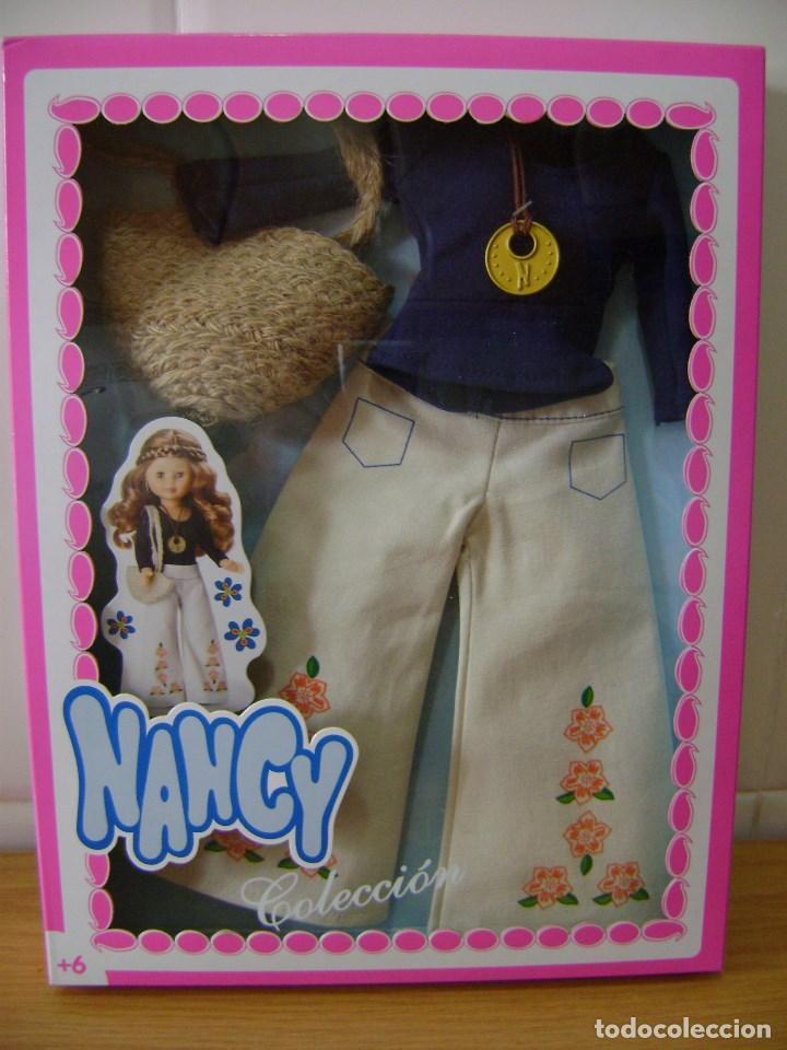 NANCY TRAGE EN CAJA HIPPY. (Juguetes - Muñeca Española Moderna - Nancy y Lucas)
