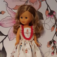 Muñecas Nancy y Lucas: VESTIDO PARA NANCY MODELO MARINERA DE TELA LOS MODELOS DE NANCY. Lote 137185310