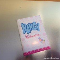 Muñecas Nancy y Lucas: NANCY DE FAMOSA CATALOGO NANCY COLECCIÒN DE QUIRON CON LOS MODELOS NANCY NUEVO SIN USAR. Lote 140914114