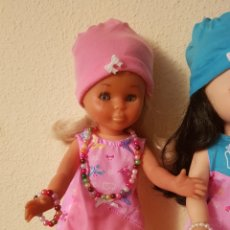Muñecas Nancy y Lucas: VESTIDO NANCY ROSA + GORRO. Lote 137670105