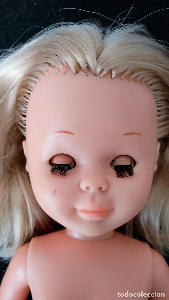 Muñecas Nancy y Lucas: Muñeca Nancy solo Famosa muy Antigua - Patabollo - Brazos Duros - rubia ojos marrones - Foto 9 - 138676270