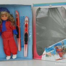 Muñecas Nancy y Lucas: MUÑECA NANCY ESQUIADORA (1986) DE FAMOSA, FUNCIONAMIENTO A PILAS, NUEVO A ESTRENAR, NUNCA SACADA DE . Lote 139705478