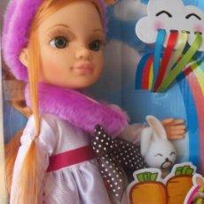 Muñecas Nancy y Lucas: NANCY NEW ARCOIRIS. PELIRROJA PECAS. FAMOSA 2013. NUEVA EN CAJA. Lote 139821942