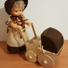Muñecas Nancy y Lucas: MUÑECA JESMARINA CON SU CARRO Y BEBE. Lote 141503482