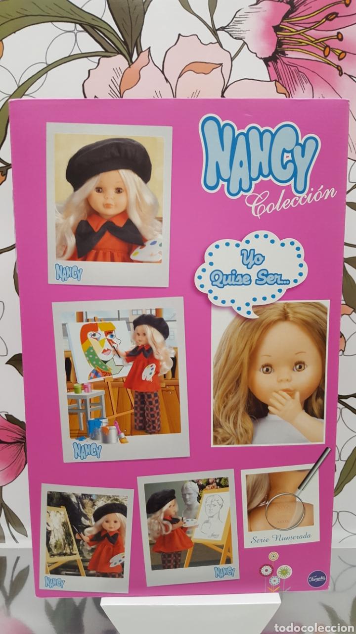 CAJA NANCY PINTORA (Juguetes - Muñeca Española Moderna - Nancy y Lucas, Vestidos y Accesorios)