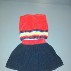 Muñecas Nancy y Lucas: DIFICIL VESTIDO, REFERENCIA 80004, DE NANCY, ORIGINAL DE LOS 80. Lote 143056994