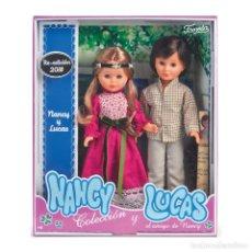 Muñecas Nancy y Lucas: PACK EXCLUSIVO DE NANCY Y LUCAS, REEDICIÓN 2018, DE UNSO GRANDES ALAMACENES. Lote 143649526
