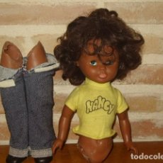 Muñecas Nancy y Lucas: FAMOSA MUÑECA NANCY NEGRA O NEGRITA ORIGINAL AÑOS 70. PELO AFRO. BLUE JEANS. Lote 143900538