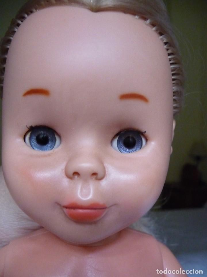 Muñecas Nancy y Lucas: Nancy de famosa rubia ojos azul margarita patabollo años 70 tobillo ancho - Foto 6 - 143909850