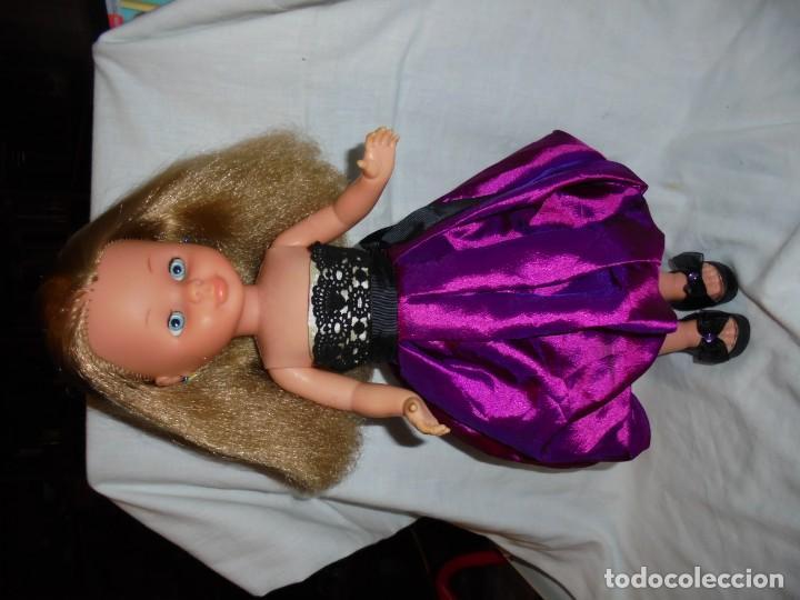 Muñecas Nancy y Lucas: RARA NANCY DE FAMOSA RUBIA OJOS MARGARITA AZUL PATABOLLO 1970.PROTOTIPO? - Foto 48 - 144275698