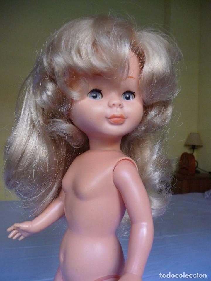 Muñecas Nancy y Lucas: Muñeca Nancy de famosa capas tobillo normal rubia ojos azul margarita años 70 - Foto 11 - 144772810