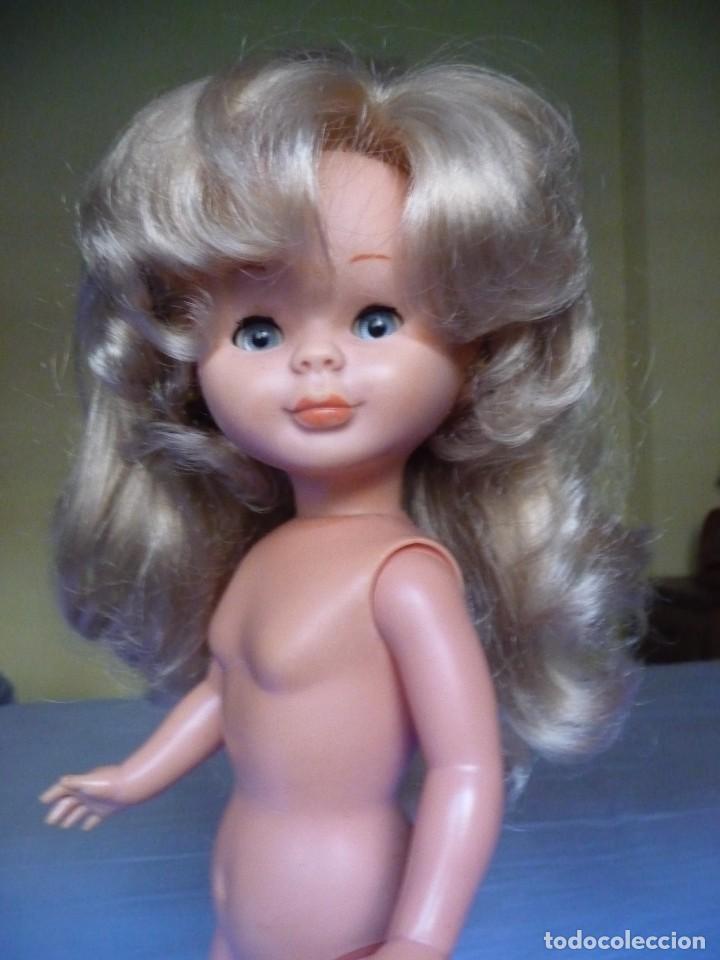 Muñecas Nancy y Lucas: Muñeca Nancy de famosa capas tobillo normal rubia ojos azul margarita años 70 - Foto 14 - 144772810