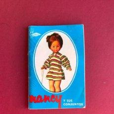 Muñecas Nancy y Lucas: CATÁLOGO NANCY FAMOSA AÑOS 70 MUY NUEVO. Lote 145011358